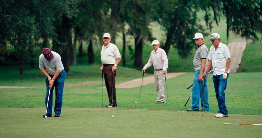 Golf at Lockhart State Park