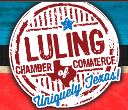 Luling chamber of commerce sign