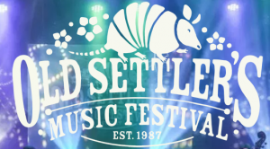 Old Settler's Music Festival Sign